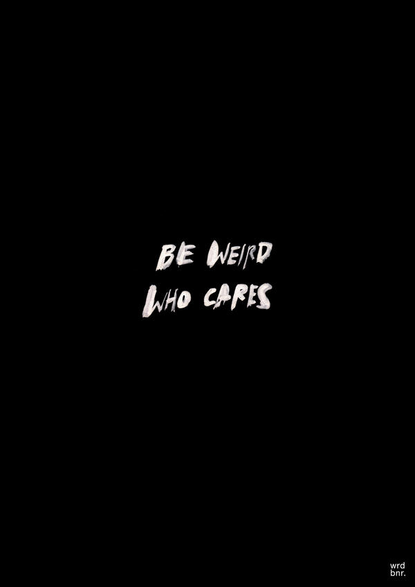 WHO CARES by WRDBNR