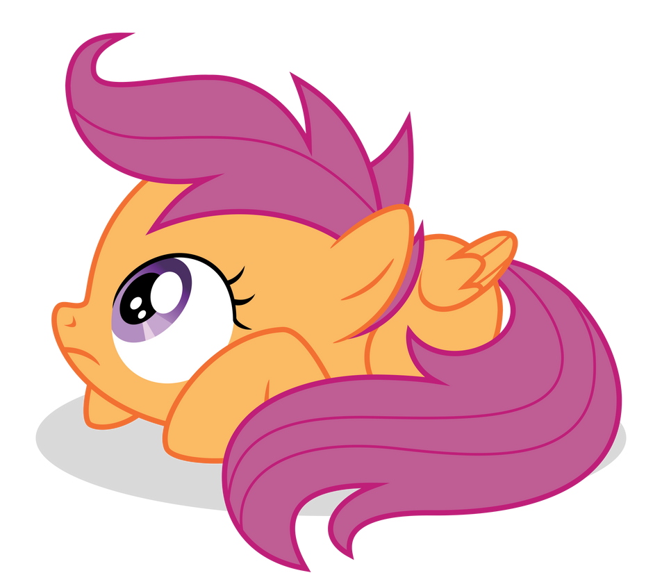 Scootaloo Afraid By Guille X3 On Deviantart