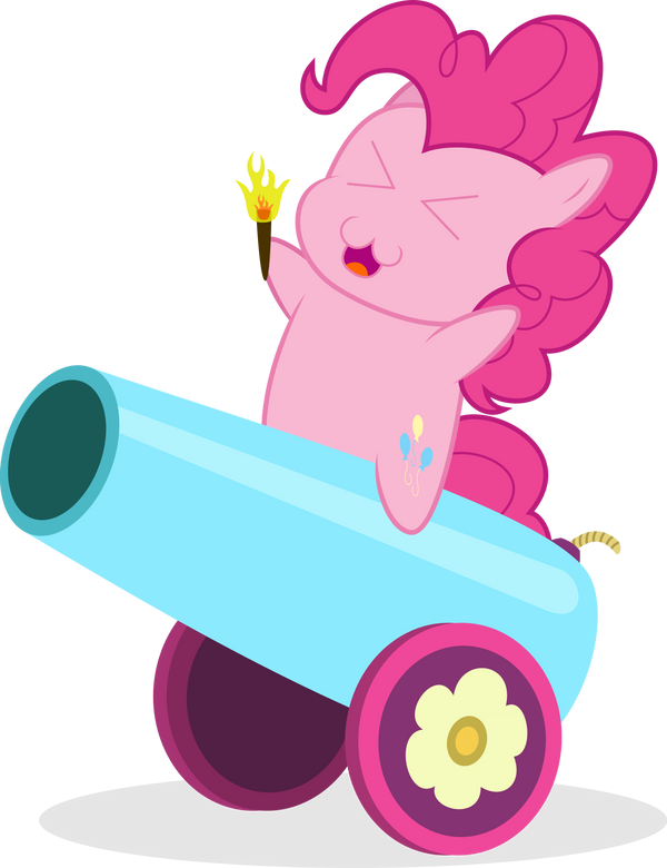 Chibi Pinkie Pie - 'Into the Battlefield!' by Guillex3