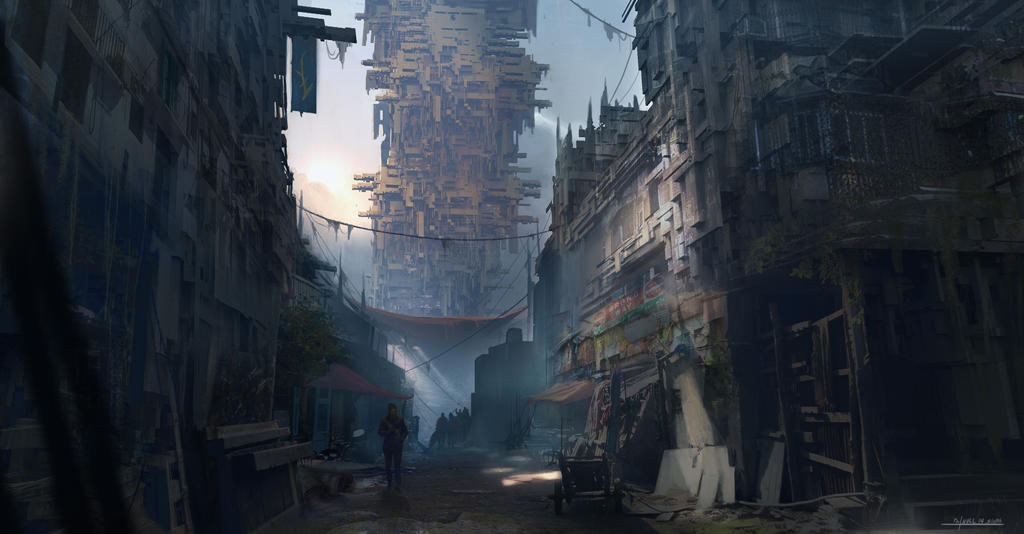 slums by TylerThullCreations