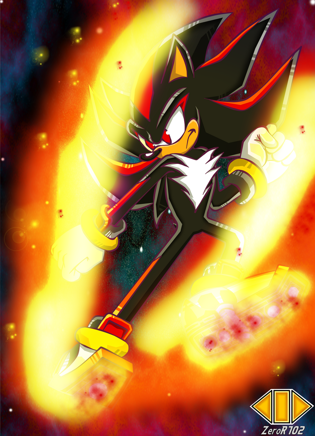 Dive Kick Shadow by ZeroR102