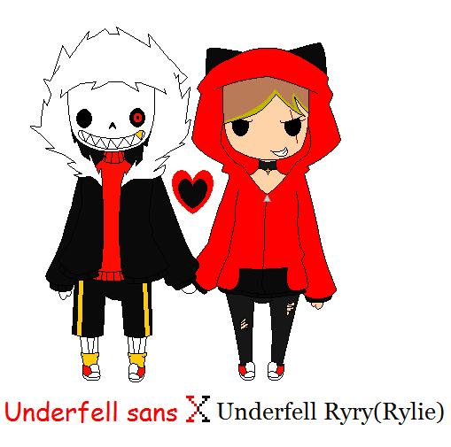 UF Sans X UF Ryry(Rylie) By FunnyBoneSans On DeviantArt