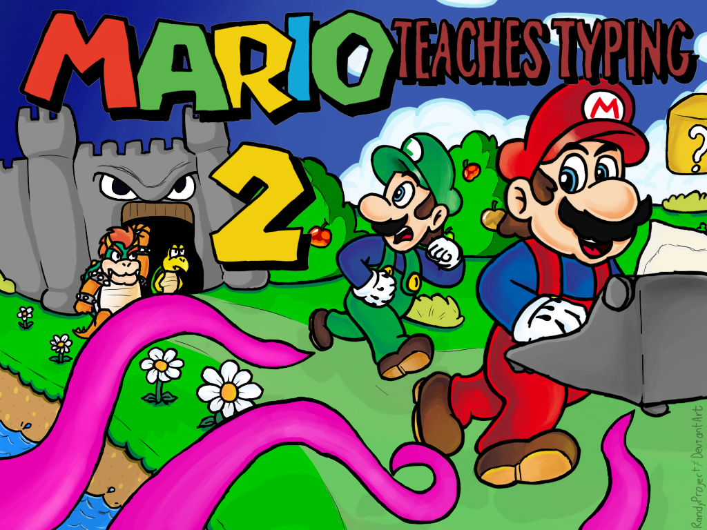 Mario Teaches Typing 2 - Remake by randyproject on DeviantArt