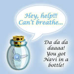 'You got Navi in a Bottle'