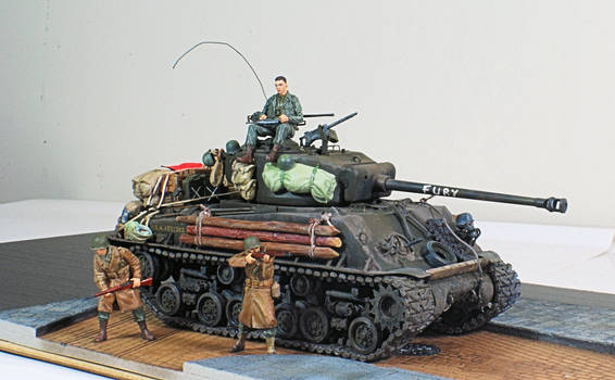 Tank and Troops