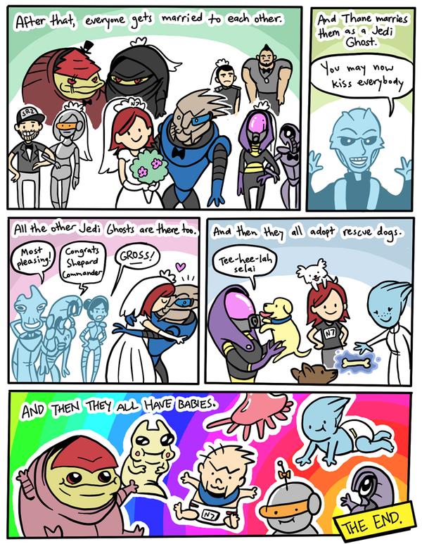 Joanna's Mass Effect Ending - pg 2 by fightingferret