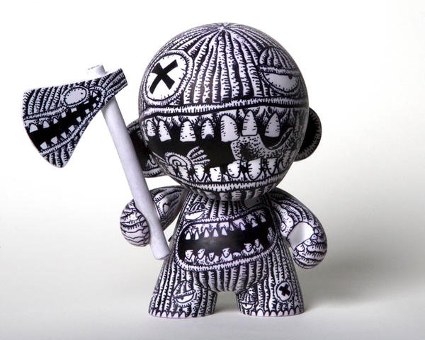 new Munny Doll by NUMBERJUAN