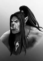 Grommash Hellscream by AnsaellArt