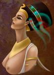 Nefertiti by AnsaellArt