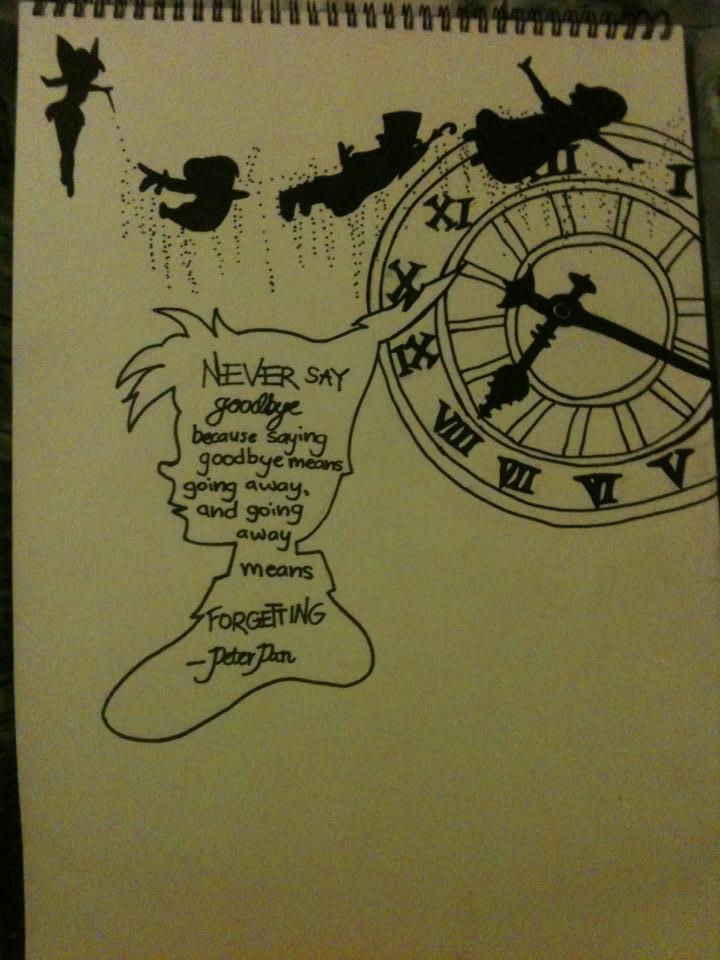 Peter Pan sketch by nightingale-wings on DeviantArt