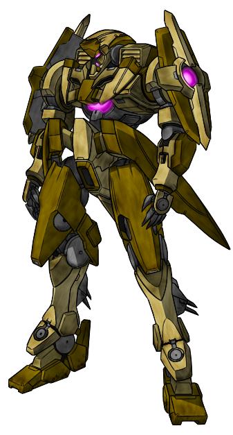 GN-X Ground Enforcer Type by Hazardmachine