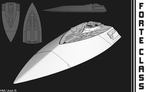Sketchup Practice: Colony Ship