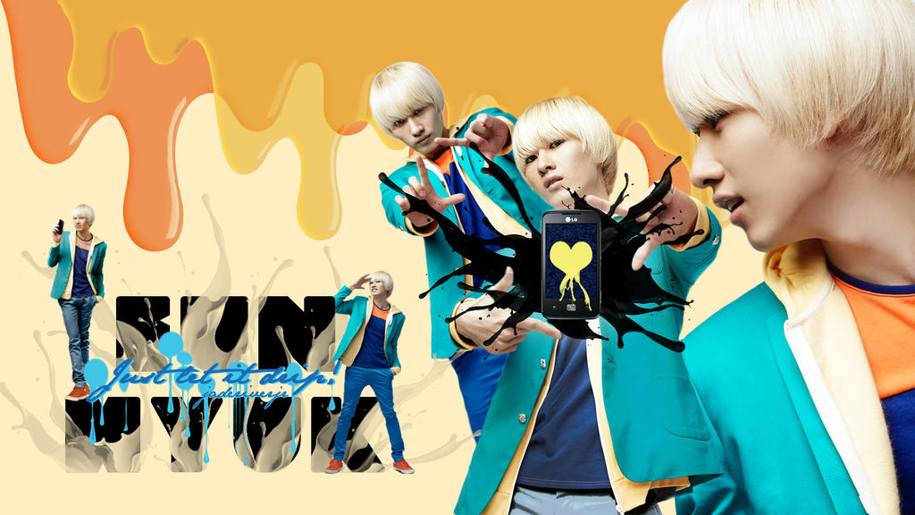 Eunhyuk - Just Let It Drip! Wallpaper by JadeRiverJR