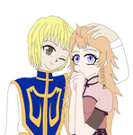Kurapika X Kara Art Trade by PinkSnowAngel13