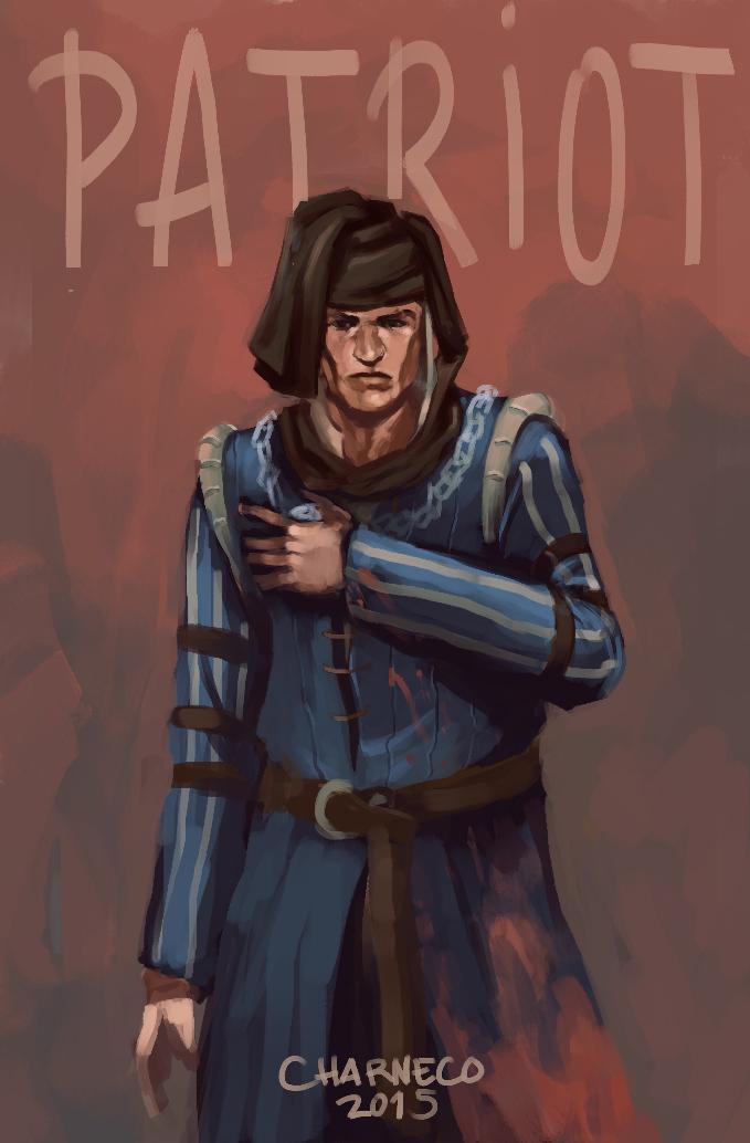 Vernon Roche, The Patriot by Charneco