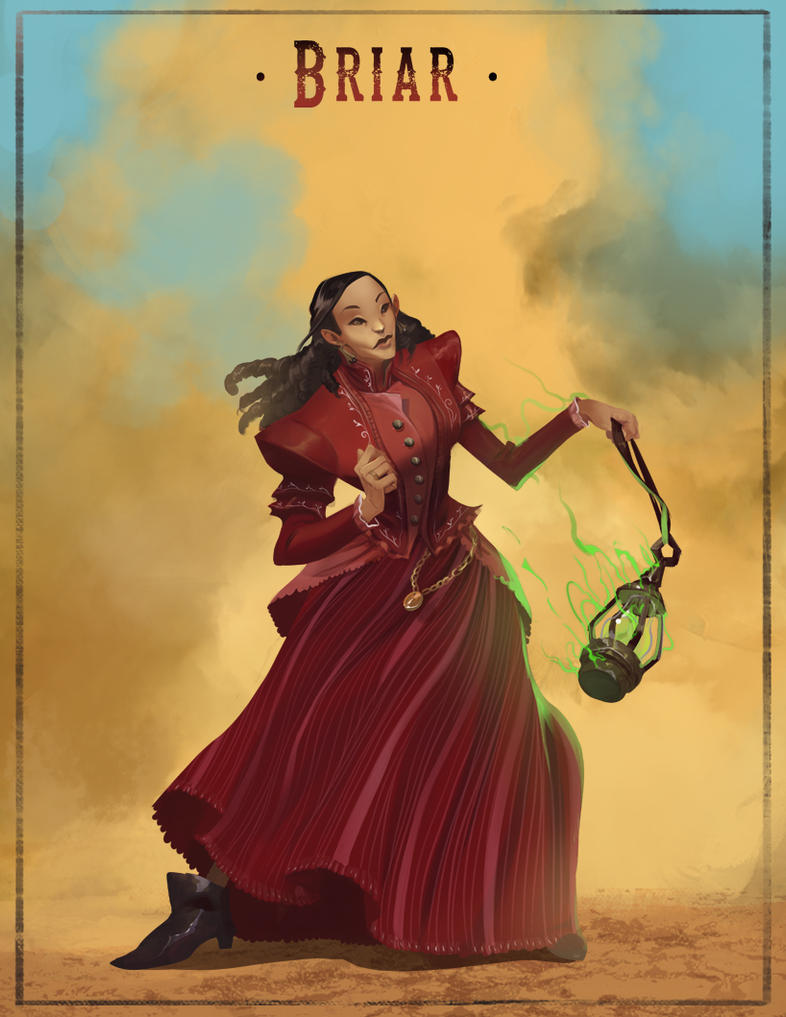 Briar, the maiden by Charneco