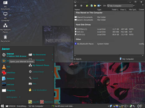 Current desktop.