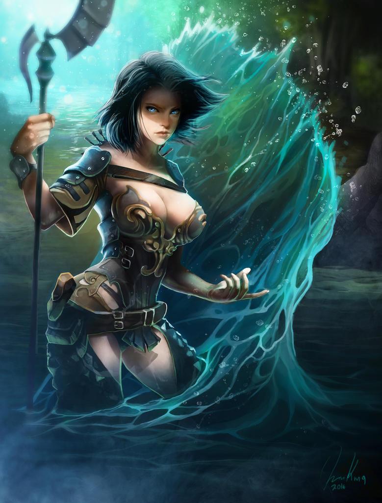 Water God by santerikivioja