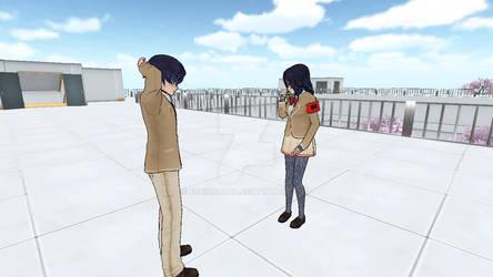 Oka confess to Shin
