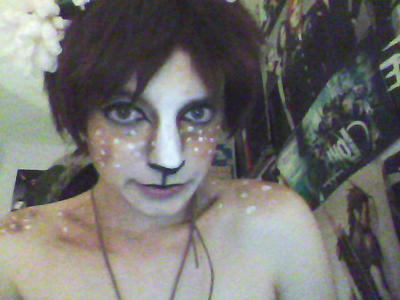 Fawn!Eren make up test by AnimeBomb