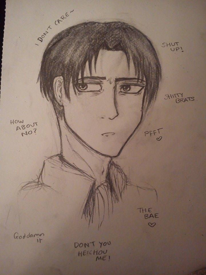 Levi by AnimeBomb