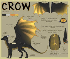 Crow's Reference Sheet [Dragon V1] by Avenyl