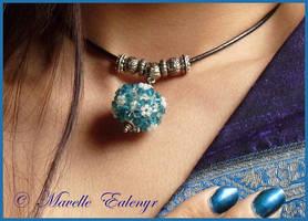 Delphinium Necklace