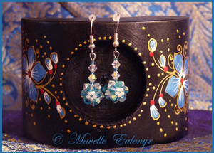 Delphinium Earrings
