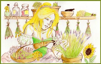 Witchtober2018: Day 2 - Botanical