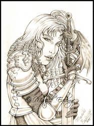 Sauska - Dragon Sword by Mavelle-Ealenyr