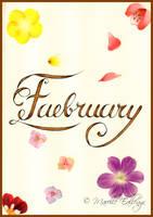 Faebruary 2021 - Calligraphy
