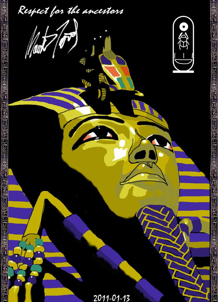 Tutanhamon's Digital Portrait2 by Seth890603