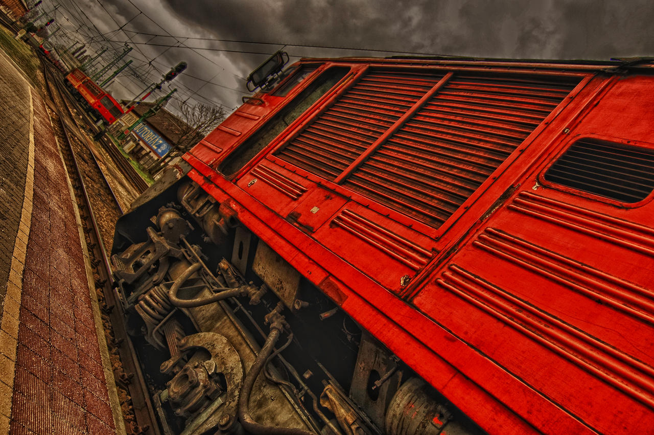 Stormy day and Russian POWER by Seth890603