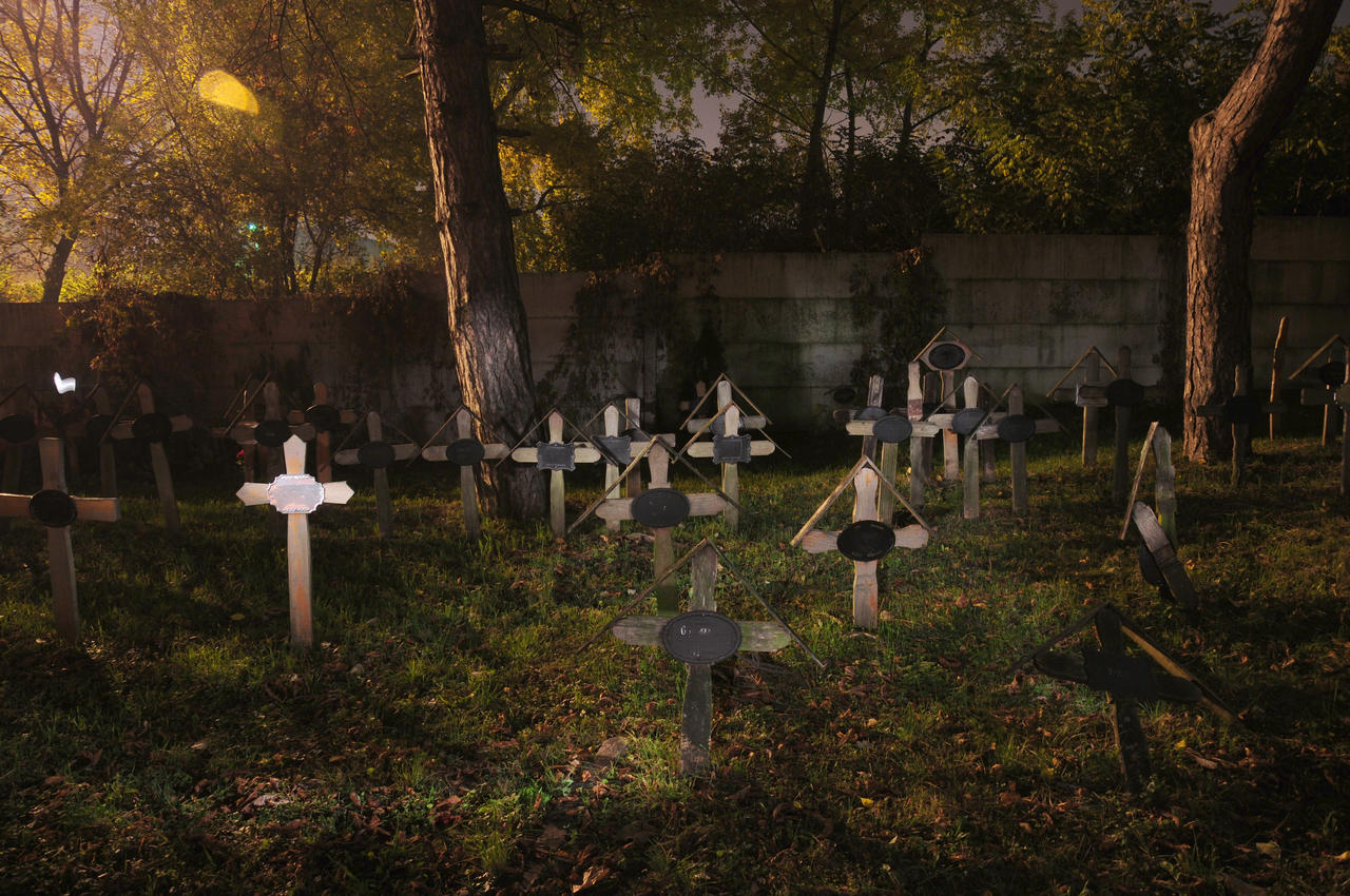 Cemetery at night 4 by Seth890603 on deviantART