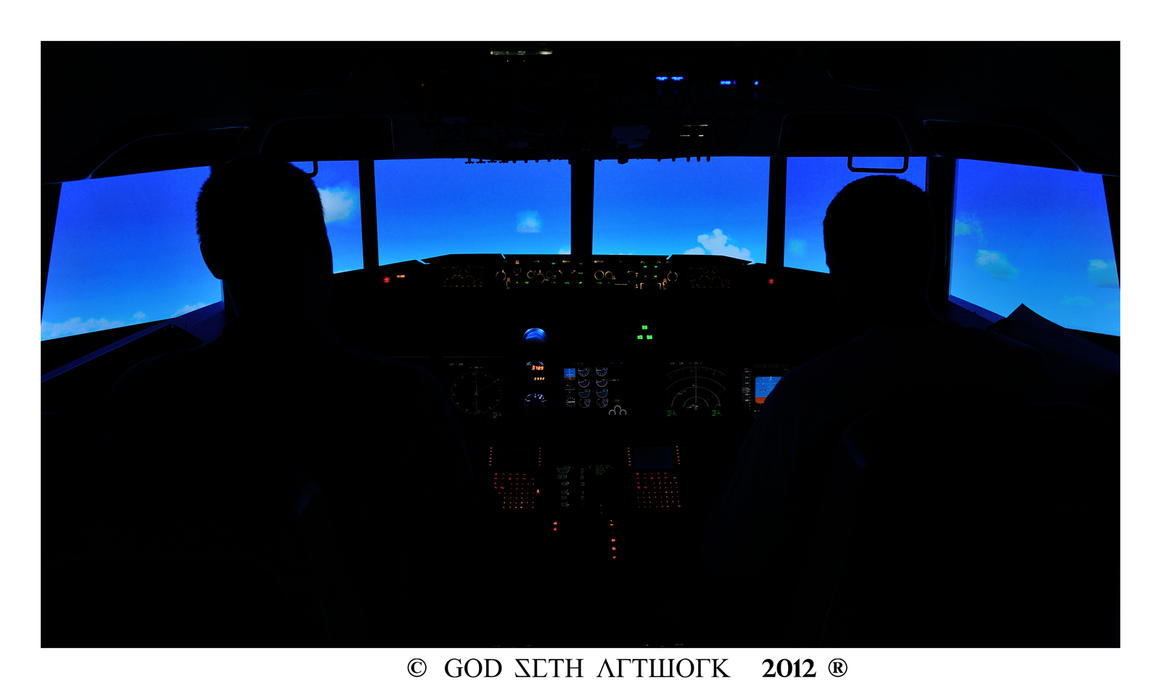 Pilots at work by Seth890603