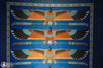 Ancient Egypt style ceiling by Seth890603