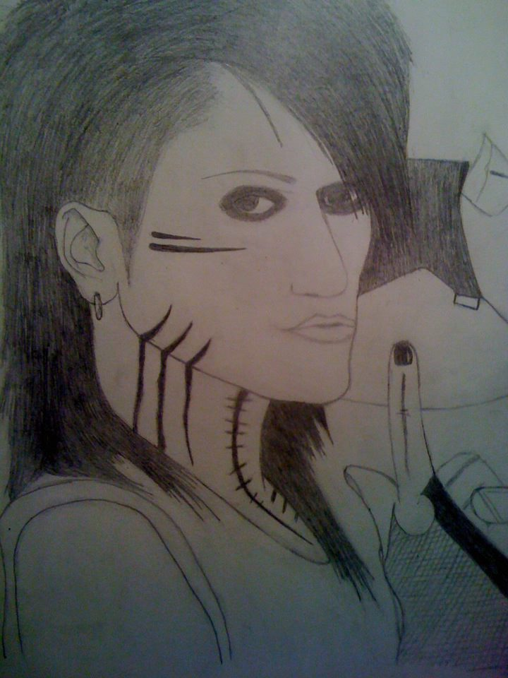 Ashley Purdy drawing (bit rubbish. Not finished) by ...
