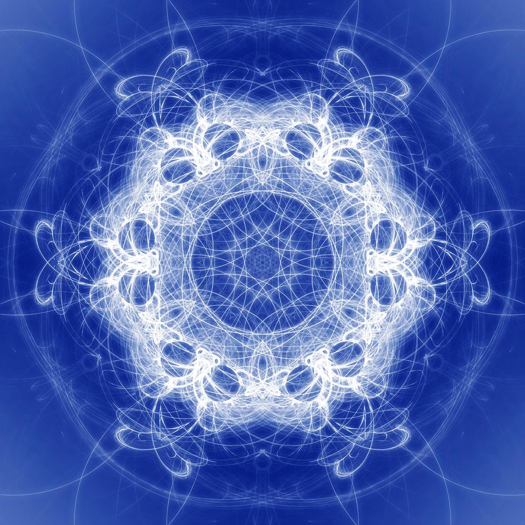 Snowflake Mandala by SteveAllred