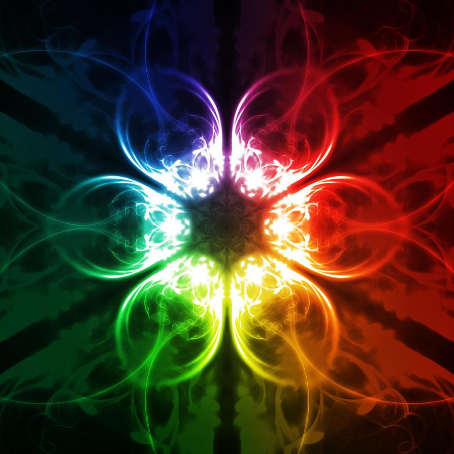 Color Wheel Mandala 2 by SteveAllred