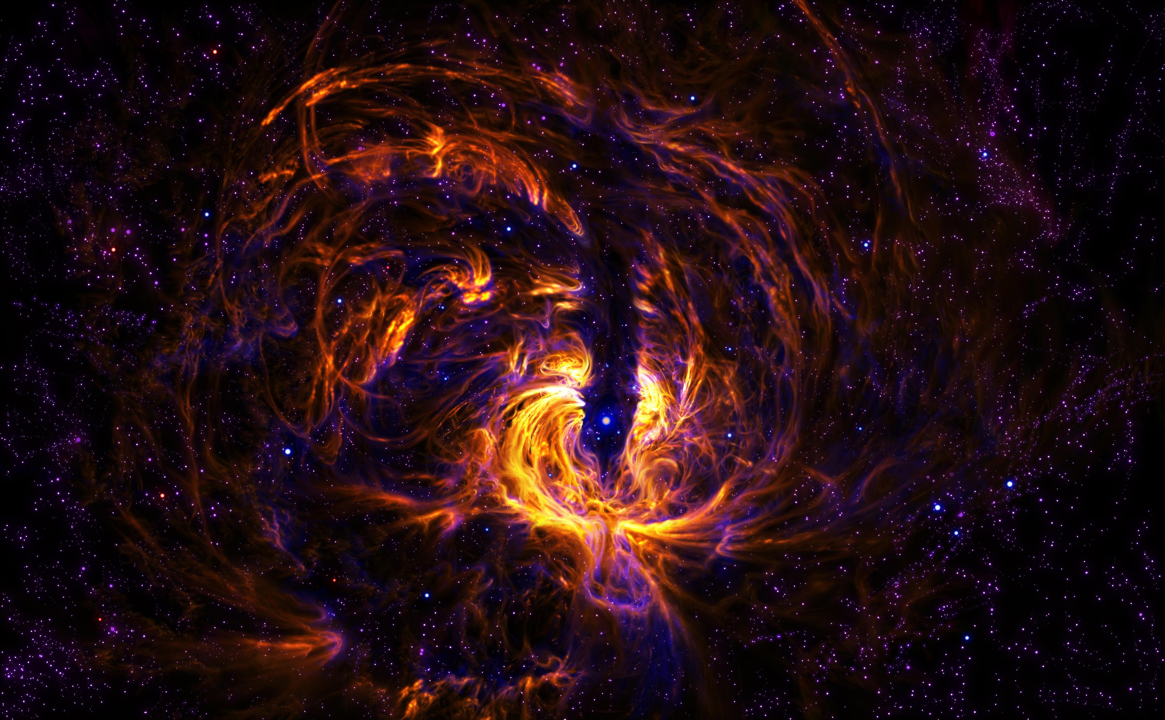 Hurricane Nebula by SteveAllred on DeviantArt