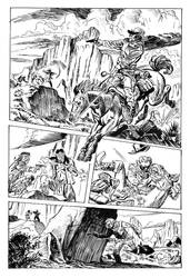 Jonah Hex by Dean Kotz by zeddero