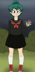 Izumi and the spider by MissMooseMedia
