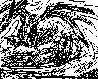fire bird sketch