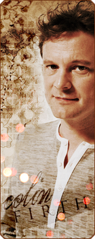 Colin Firth bookmark by cwiny