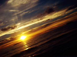 Another Sunset by Chaossian-Blur
