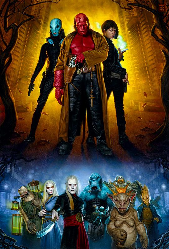 Hellboy II by DSillustration