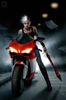 Urban Huntress by DSillustration