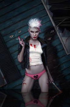 Dan Dos Santos: White Trash Zombie Apocalypse