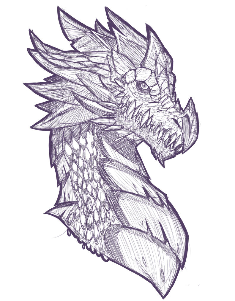 Dragon by chicajamonXD