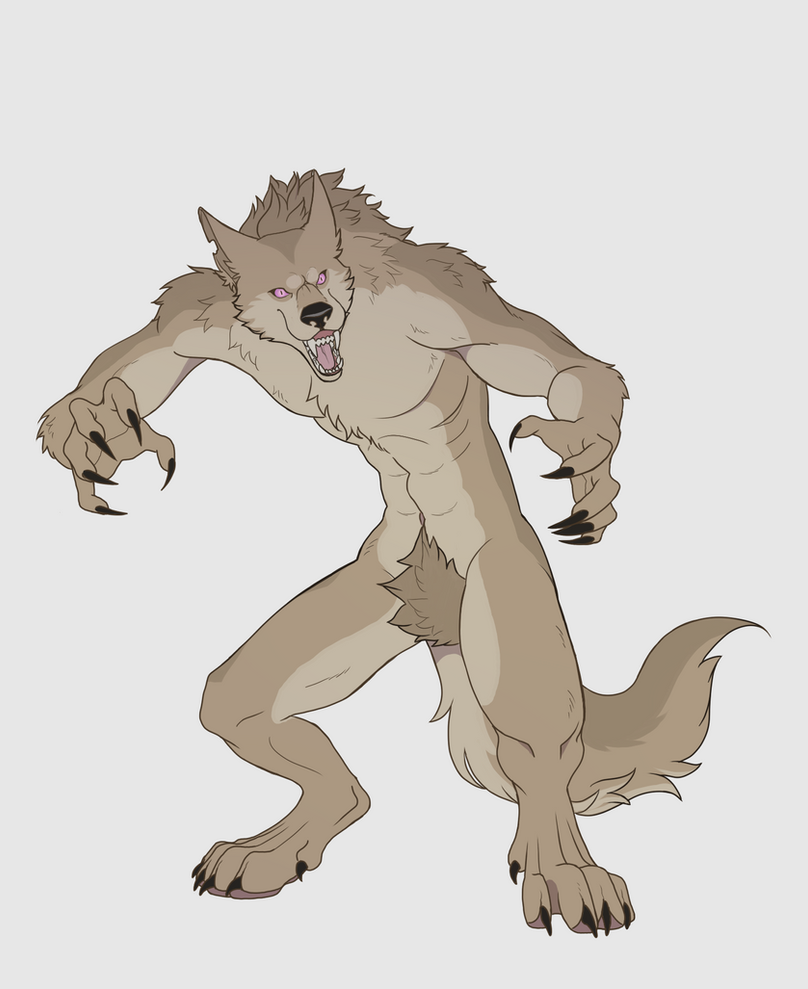 Werewolf by chicajamonXD